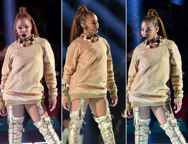 Джанет Джексон на Billboard Music Awards-2018: зажигательный танец и трогательная речь (ВИДЕО)