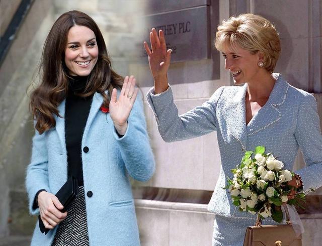 Не зря сравнивают: Кейт Миддлтон может пойти по пути принцессы Дианы