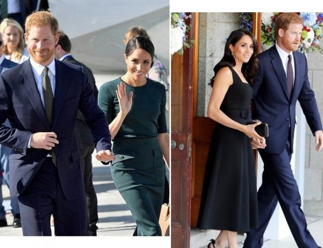 Меган Маркл и принц Гарри в Ирландии: первый официальный визит и прием в посольстве (ФОТО+ВИДЕО)