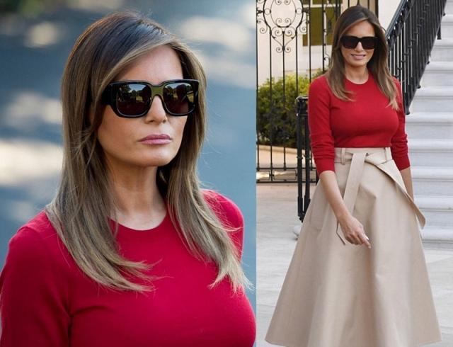 Истинная леди: Мелания Трамп получает комплименты из-за выбора наряда