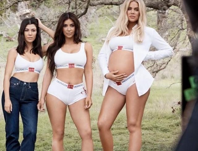 Сестры Кардашьян-Дженнер стали героинями осенней кампании Calvin Klein