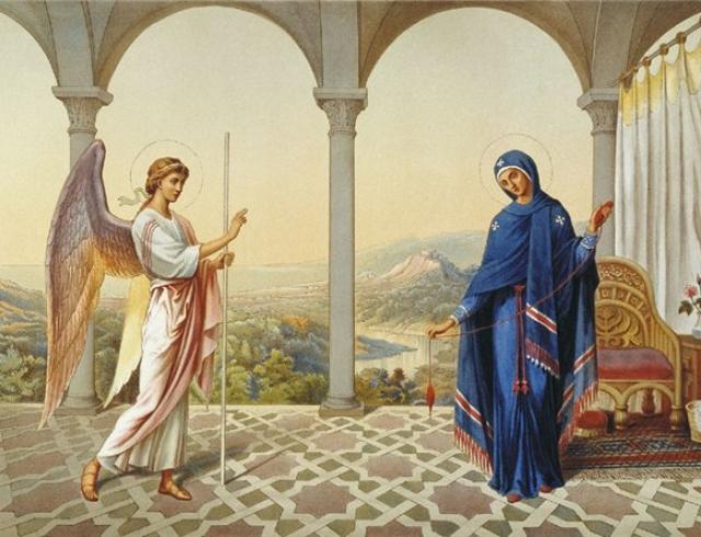 Лучшие поздравления с Благовещением Пресвятой Богородицы!