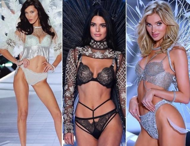 Лучшие образы на шоу Victoria's Secret: Кендалл Дженнер, сестры Хадид, Адриана Лима и другие