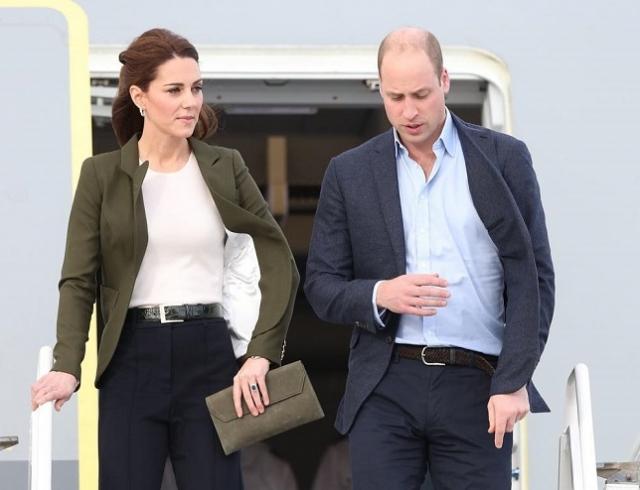 Кейт Миддлтон и принц Уильям прибыли на Кипр с официальным визитом (ФОТО)