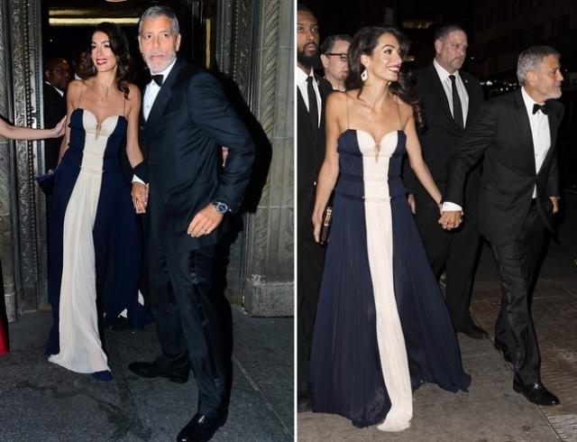 Амаль Клуни затмила всех на церемонии вручения премий Ассоциации корреспондентов ООН