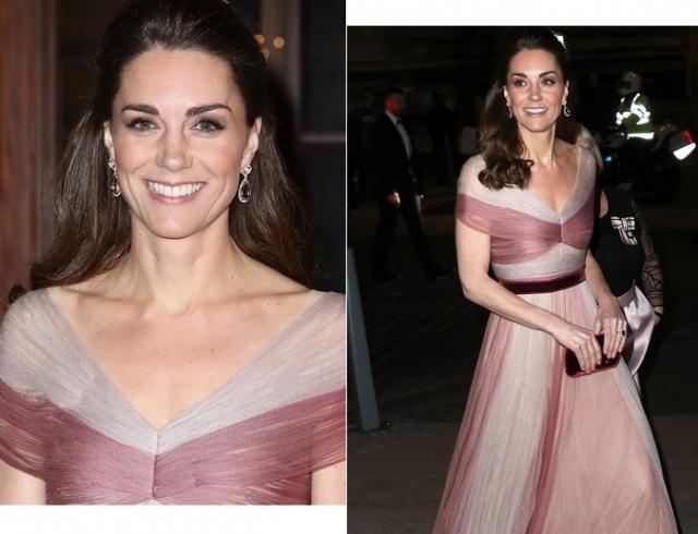 Кейт Миддлтон появилась на гала-ужине в Музее Виктории и Альберта в платье Gucci (ГОЛОСОВАНИЕ)