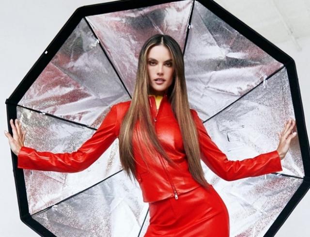 В модных образах и необычных позах: Алессандра Амбросио снялась для Harper´s Bazaar