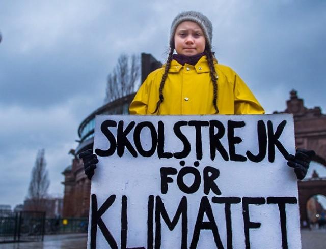 Школьница-активистка из Швеции была номинирована на Нобелевскую премию