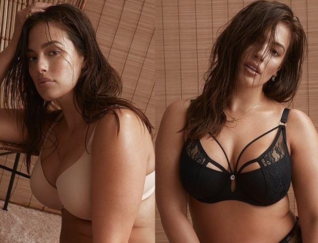 Модель plus-size Эшли Грэм презентовала авторскую линейку нижнего белья (ФОТО)