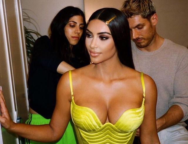 Kimono Intimates: Ким Кардашьян запустила свой бельевой бренд
