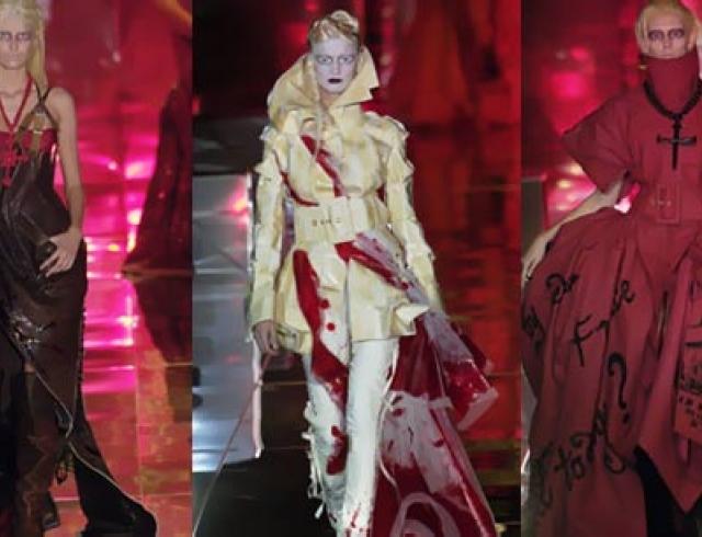 Бал монстров от Джона Гальяно на неделе высокой моды в Париже (ФОТО)