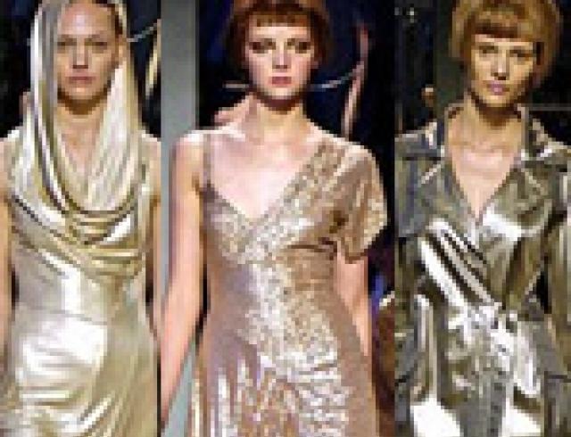 Не пропустите модный писк: серебряный блеск, золотой шик (ФОТО)