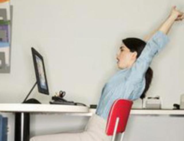 Фитнес на рабочем месте. Это вам необходимо
