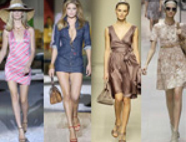 Модные платья весна-лето 2007. FOTO