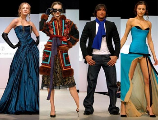 Новые идеи от Юдашкина: молодежный стиль casual и вечерние наряды de Luxe (фото)