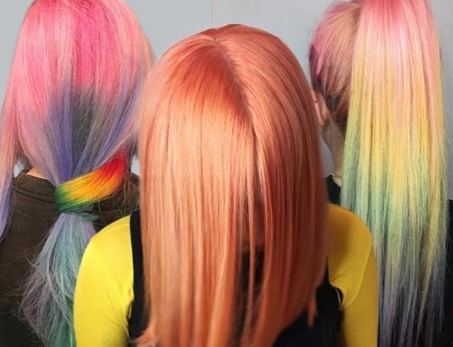 Модное пастельное окрашивание волос: 8 интересных идей