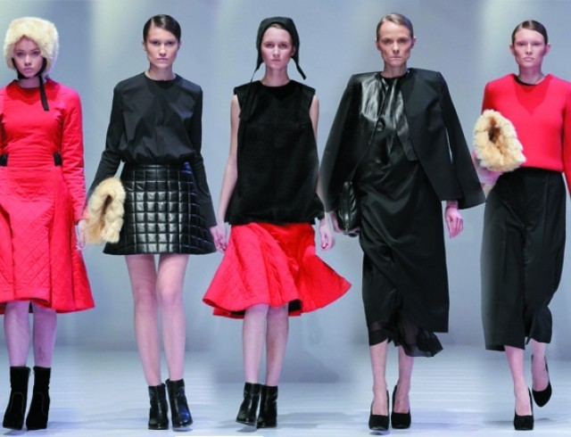 Kiev Fashion Days: коллекция Omelya Atelier осень-зима 2014-2015