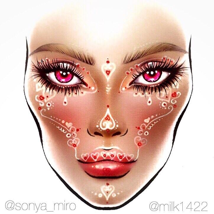 Не оторваться: визажисты рисуют на бумаге макияж, и это потрясающе красиво - галерея №0 - фото №3