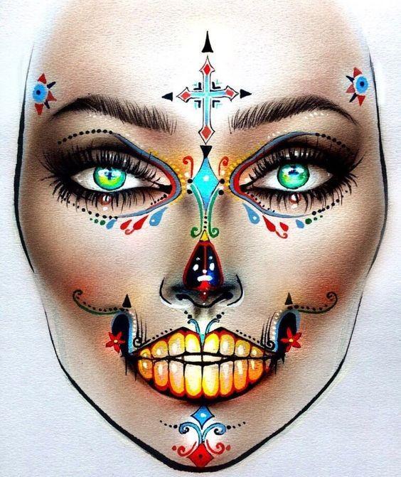 Не оторваться: визажисты рисуют на бумаге макияж, и это потрясающе красиво - галерея №0 - фото №5