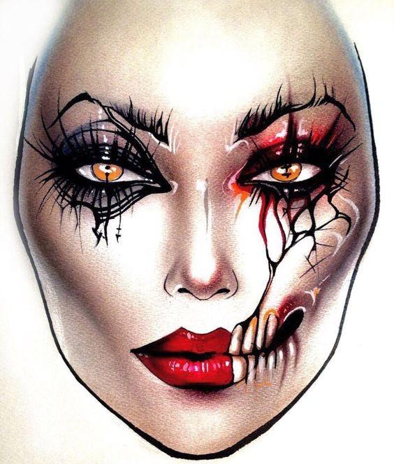 Не оторваться: визажисты рисуют на бумаге макияж, и это потрясающе красиво - галерея №0 - фото №1