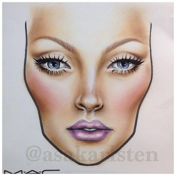 Не оторваться: визажисты рисуют на бумаге макияж, и это потрясающе красиво - галерея №0 - фото №22