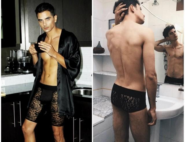 Мужское кружевное белье новая коллекция hanai роллер для лица