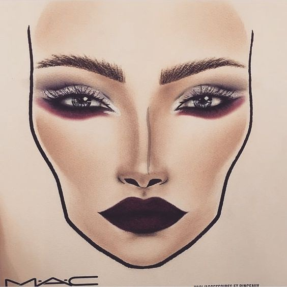 Не оторваться: визажисты рисуют на бумаге макияж, и это потрясающе красиво - галерея №0 - фото №21