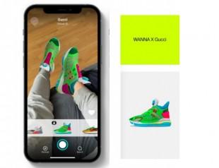 Вещь дня: Gucci представили виртуальные кроссовки