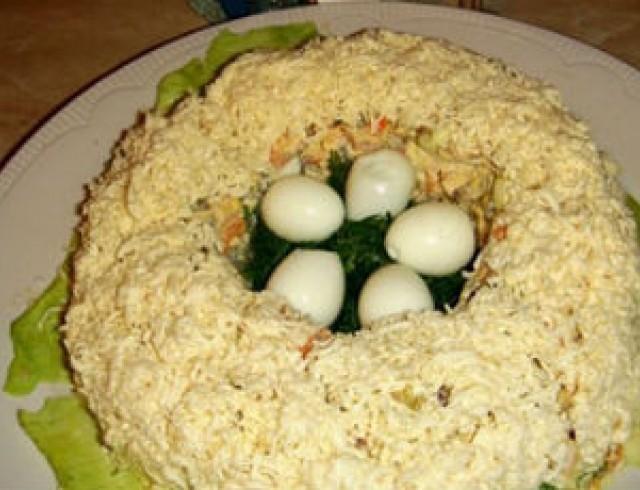 салат ласточкино гнездо рецепт с фото пошагово надо чём-то добираться