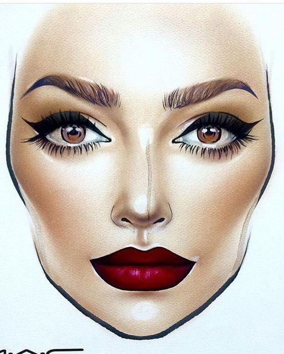 Не оторваться: визажисты рисуют на бумаге макияж, и это потрясающе красиво - галерея №0 - фото №9