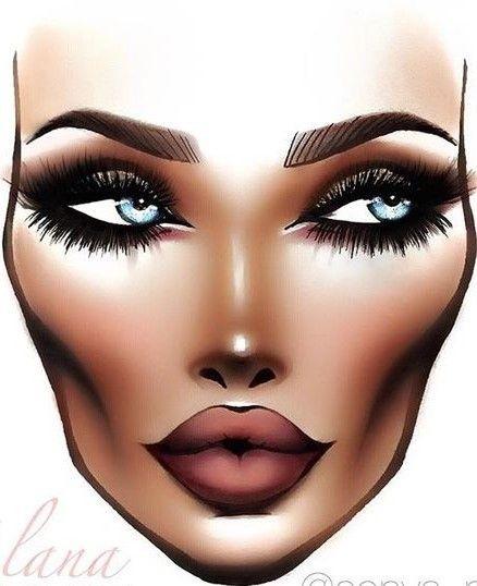 Не оторваться: визажисты рисуют на бумаге макияж, и это потрясающе красиво - галерея №0 - фото №12