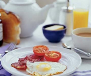 Завтрак и перепих - обязательные составляющие для бодрого утра